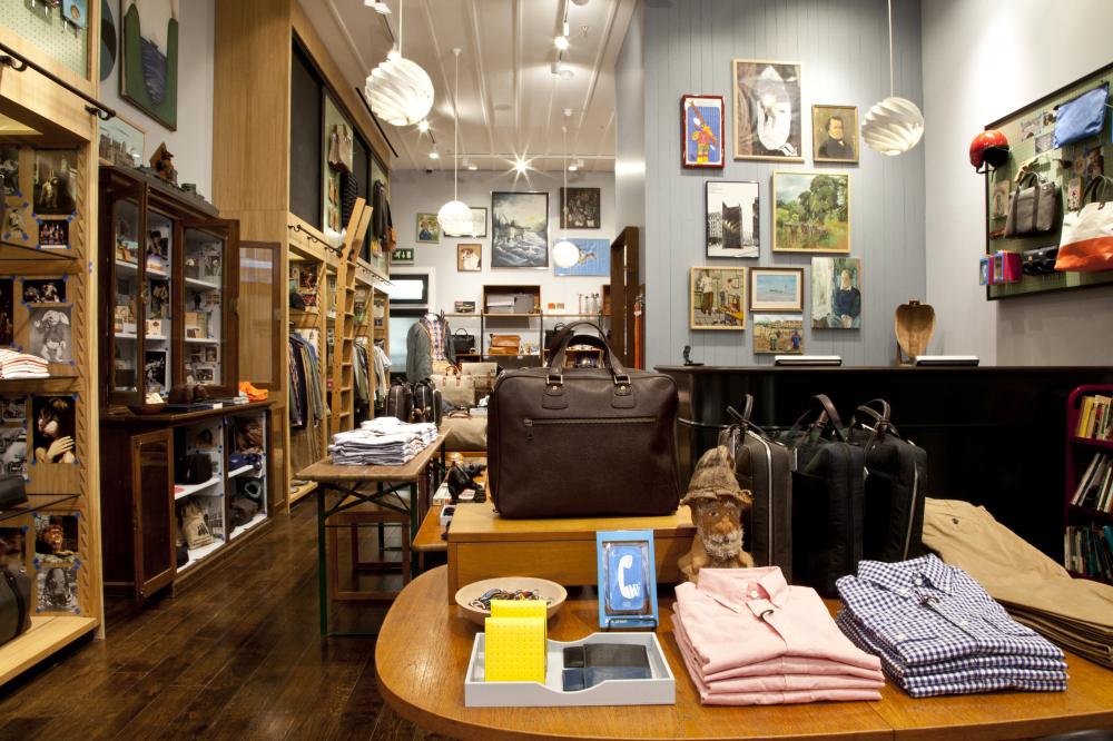 Menswear shops