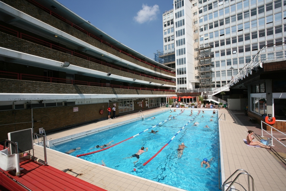 Lidos and outdoor swimming pools in London Swimming in London in