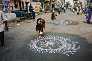 Kolam: Ephemeral Patterns for Eternal Prosperity