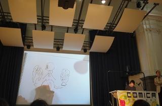 Comica Comiket Independent Comics and Art Fair 2012