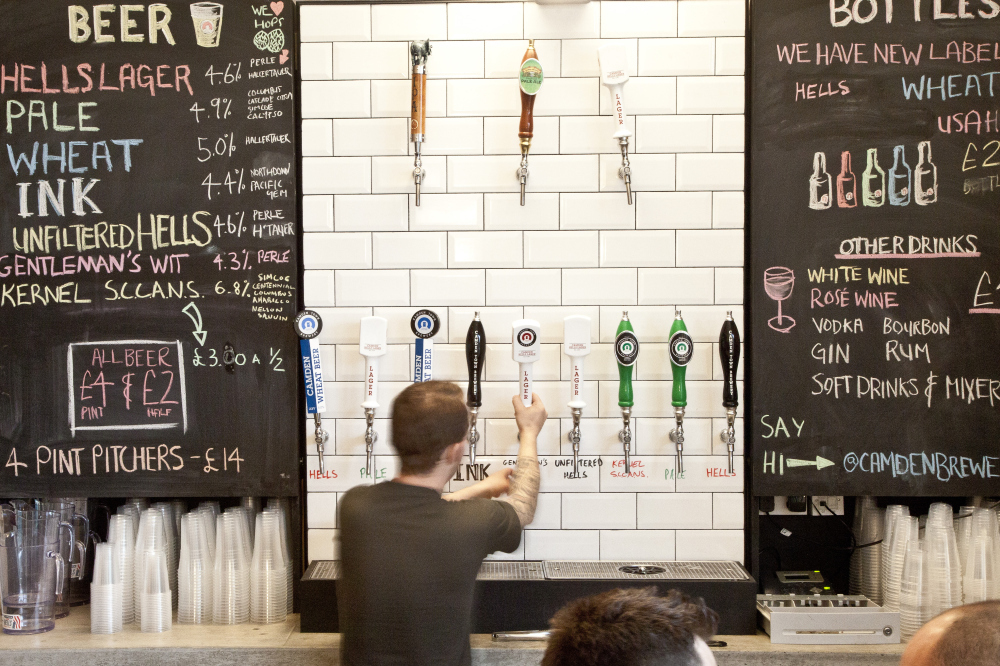 Image Result For Camden Town Craft Beer Bars