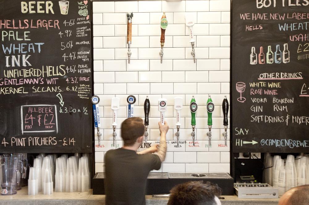 Visit Camden Town Brewery Bar