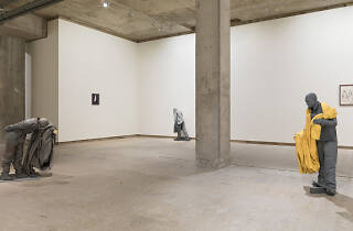 Juan Muñoz's The Inaccessbile Moment at Frith Street Gallery