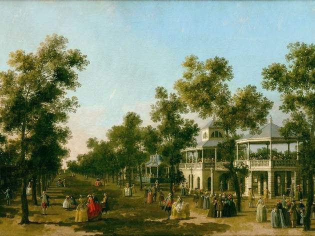The Grand Walk, Vauxhall Gardens, London, Canaletto, c.1751 © Collection Compton Verney.jpg
