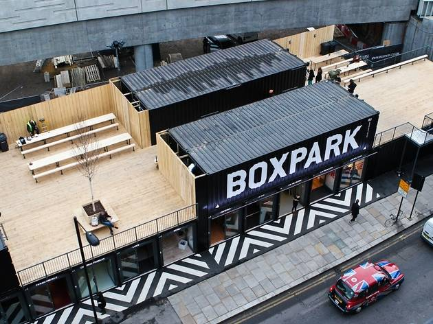 Boxpark Diamond Jubilee celebration