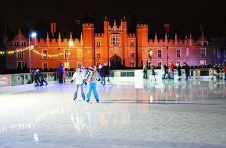Hampton Court Palace Ice Rink 2011
