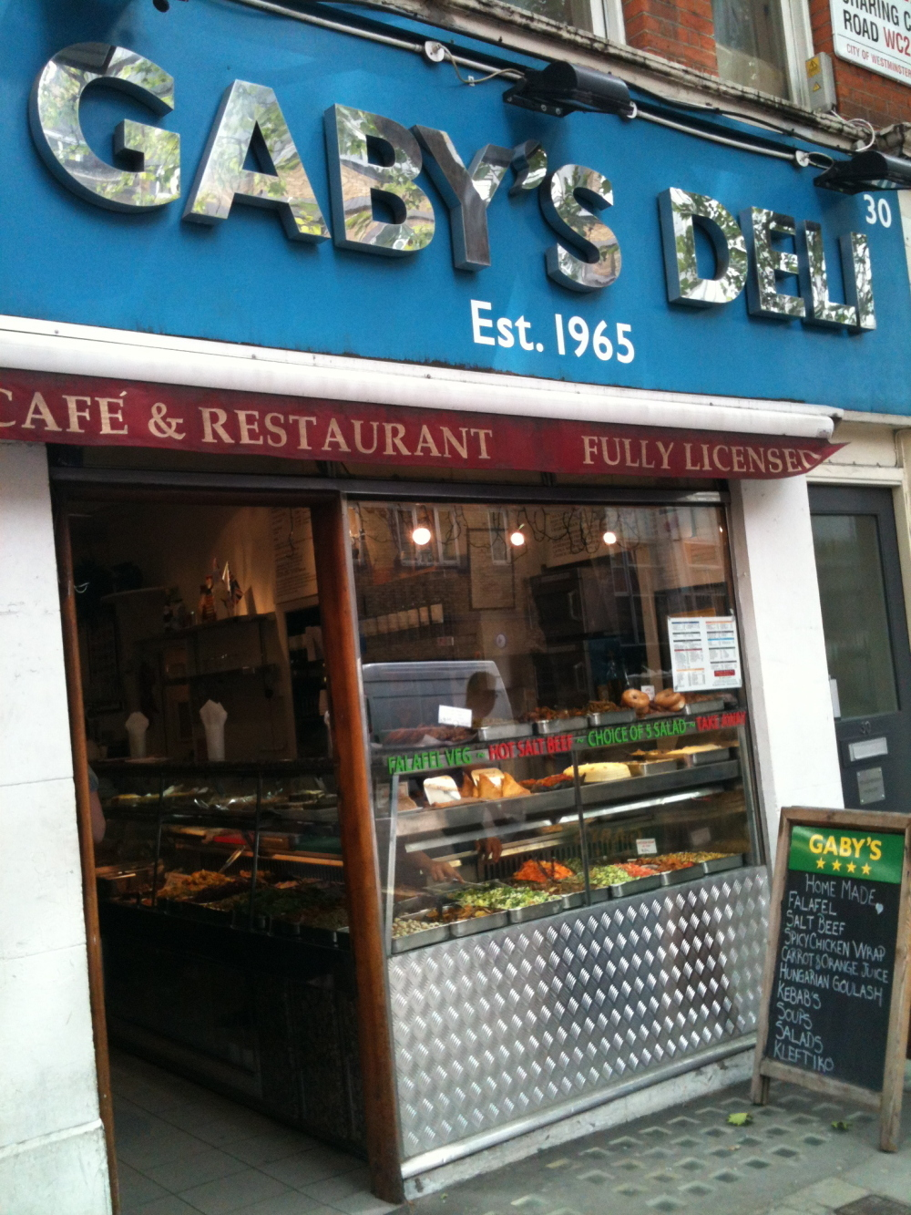 Munch on salt beef at Gaby's Deli