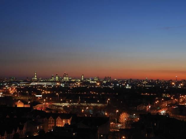 Sunset over London: Tower Tours of St John's Church, Leytonstone