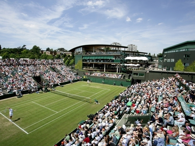 Watch the tennis at Wimbledon