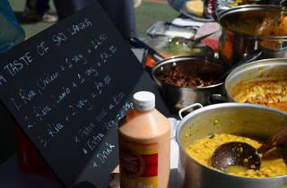 Harringay Sunday food market