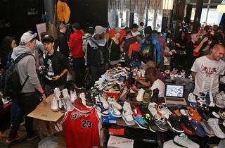 Crepe City and Nike sneaker festival