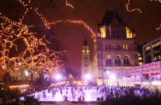 Skate in the New Year at Natural History Museum Ice Rink
