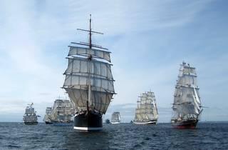 Sail Royal Greenwich: Tall Ships Arrival Parade