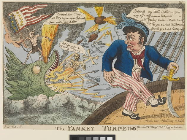 Broadsides! Caricature and the Navy 1756-1815