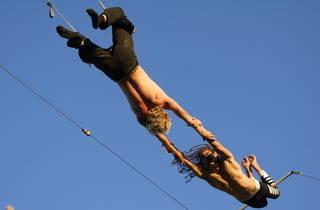 Gorilla Circus Outdoor Trapeze School