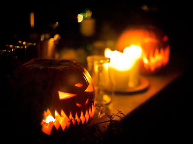 Halloween in Manchester