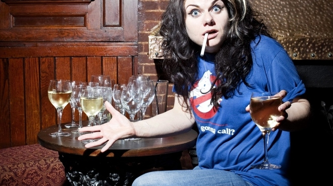 Caitlin Moran gets Time Out drunk