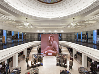 Burberry's impressive new techie store on Regents Street