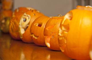 Fortnum & Mason's Pumpkin Carving Competition