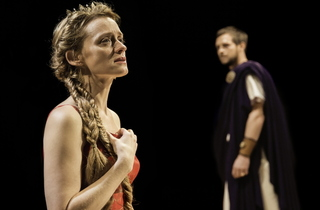 New_Anne-Marie Duff (Berenice), Stephen Campbell Moore (Titus) pic by Johan Persson.jpg