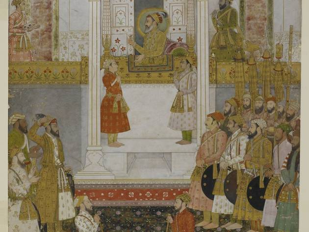 Late at the Library: Mughal Nights