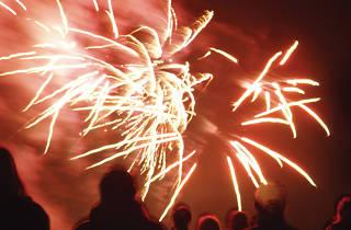 Danson Park Fireworks 2012