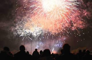 Brent Celebrates Fireworks Night 2012