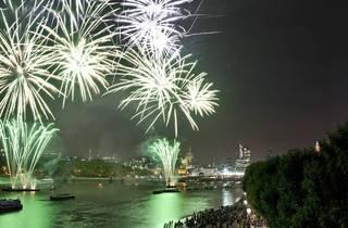 Barnes Sports Club Fireworks and Bonfire 2012