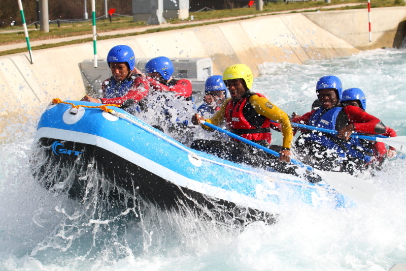 Make a splash at the Lee Valley White Water Centre