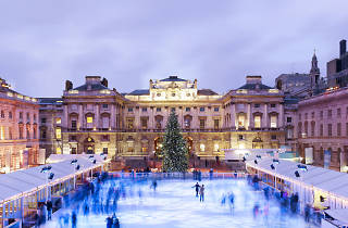Somerset House ice rink (© Marcus Ginns)