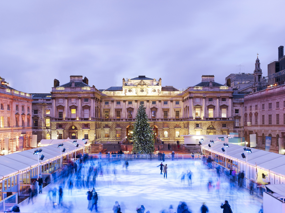 A 24-hour ice skate-athon is coming to Somerset House this winter