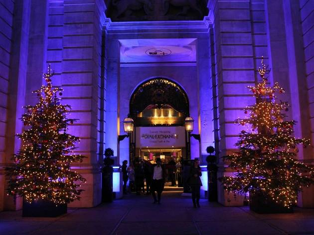 The Royal Exchange Luxury Shopping Evening