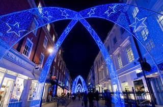 South Molton Street Christmas Lights 2012