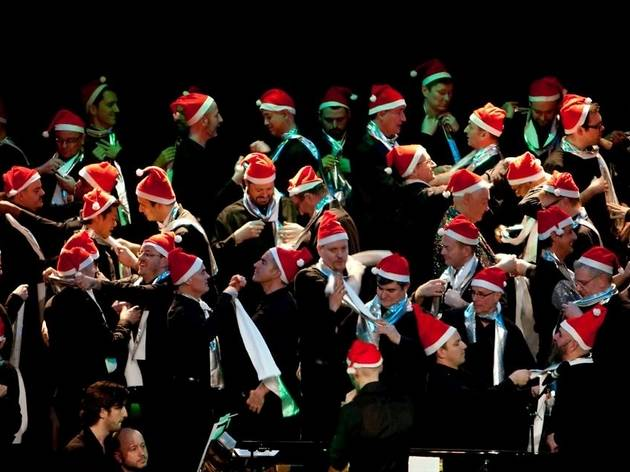 London Gay Men's Chorus - It's Comin' On Christmas