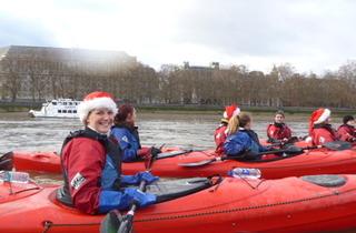 Kayaking London: Big Ben Jingle Bells 2012 SOLD OUT