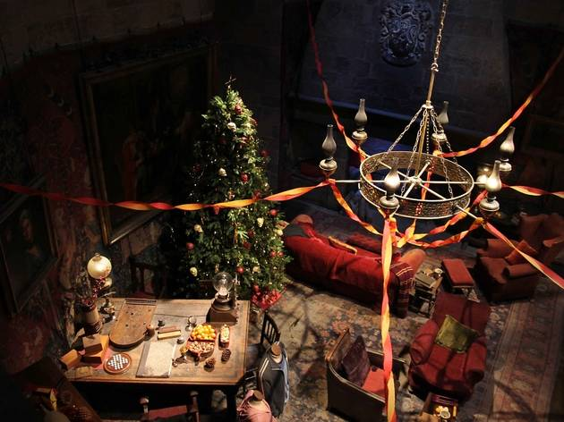Festive Makeover at The Making of Harry Potter