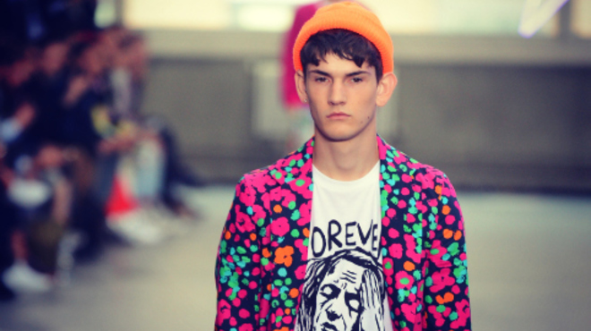 Topman Design S/S13 at London Collections: Men