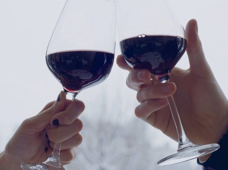 Wine with a view: wine tasting at Skylon