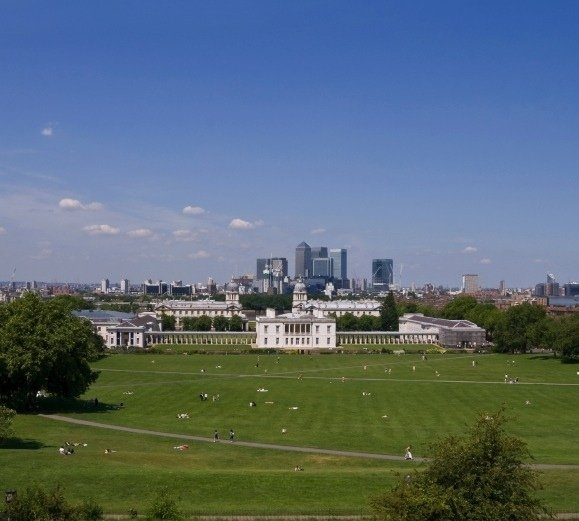 The view from Greenwich Park