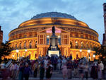 Night Time Queue at the Royal Albert Hall