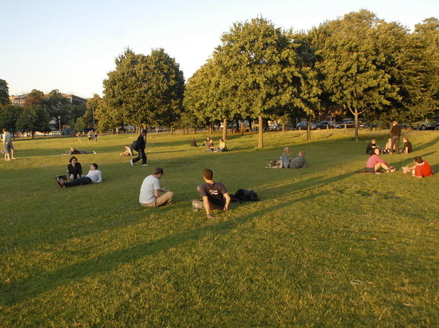 Have a kickabout on Clapham Common
