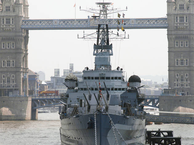 Re-Opening of HMS Belfast