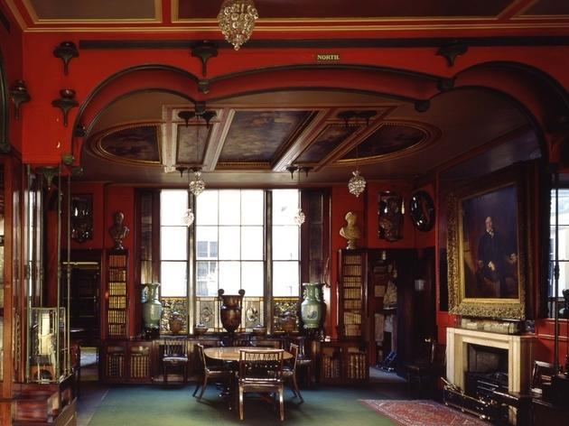 Sir John Soane\'s Museum_library dining room_CREDIT_Martin Charles_crop.JPG