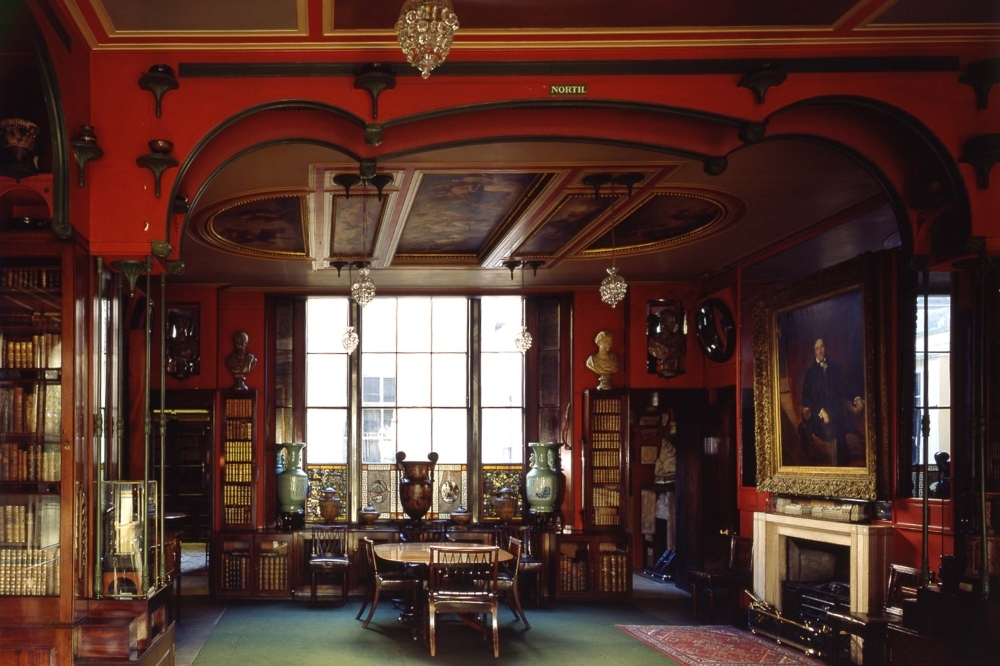 Sir John Soane\'s Museum_library dining room_CREDIT_Martin Charles_crop.JPG