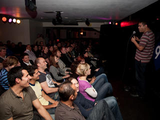 Weekend comedy clubs in London