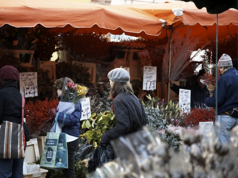 Brave the crowds of Columbia Road Flower Market