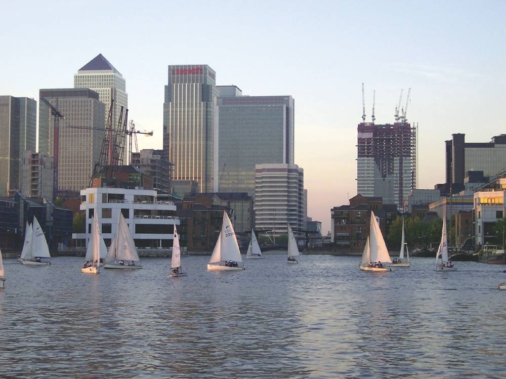 Get active at the Docklands Sailing and Watersports Centre