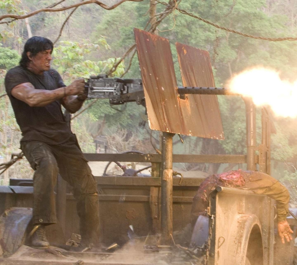 Jeep Los Angeles >> Rambo (2008), directed by Sylvester Stallone | Film review