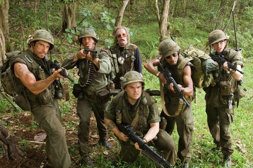Tropic Thunder 2008 Directed By Ben Stiller Film Review
