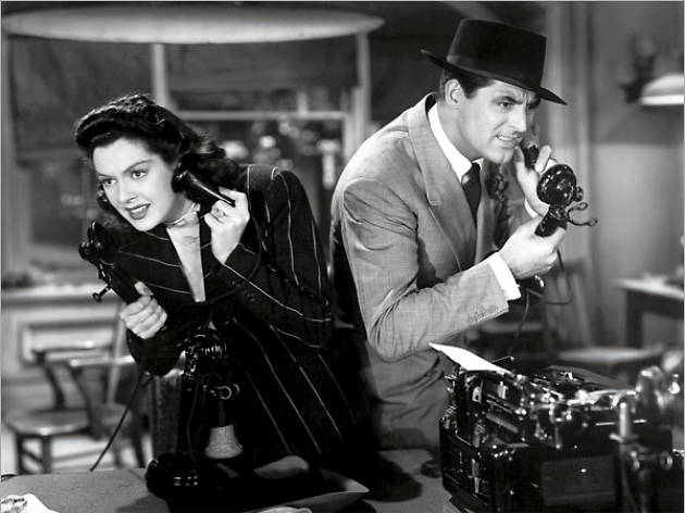 Image result for his girl friday 1940